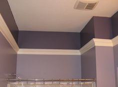Use flying crown molding to make rooms with vaulted or high ceilings feel more intimate