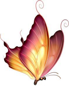 "Photo from album ""Рисованные бабочки"" on Yandex. Butterfly Clip Art, Butterfly Drawing, Butterfly Pictures, Butterfly Painting, Butterfly Crafts, Butterfly Wallpaper, Cute Butterfly, Art Papillon, China Painting"