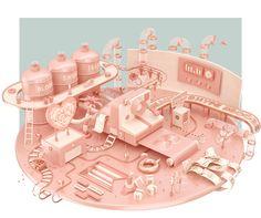 #HYPE: 3D Artwork by Mike Voropaev – Inspiration Grid | Design Inspiration #3D #illustration #illustrationinspiration #illustrationoftheday #digitalillustration #digitalart #inspirationgrid