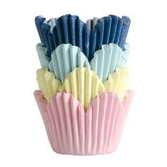Bakform mini BLOMMA kalas. 60-pack. Bakformar passande till bak av bland annat muffins och bullar. Passar till vår muffinsplåt. Hologram, Decorative Bowls, Muffins, Mini, Metal, Food, Downton Abbey, Velvet, Muffin
