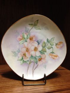 This china plate was painted by my mother-in-law, Christine Rudduck. I am putting it here because I had never heard of China painting until I met Wendy. After seeing her mother's work, I wanted to learn to paint china.