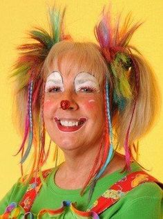 Clown Faces   Clown Face Painting/funny-womens-clown-face