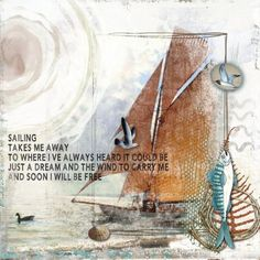 Sailing | Digital Scrapbooking at Scrapbook Flair