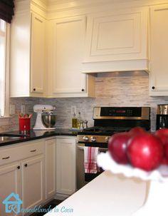 Remodelando la Casa: Kitchen redo: from builder-grade oak to ceiling-high white