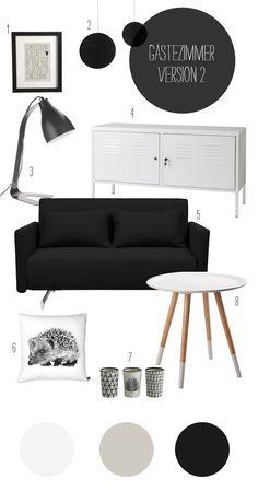 Arbeitszimmer go´s Gemütlichkeit | Wohndesign – Inspiration, DIY, Einrichten
