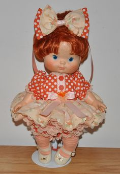 SSC Peach Blush Outfit for Blowkiss dolls.