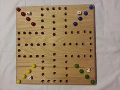 Wahoo Game Board by AgainstTheGrain88 on Etsy