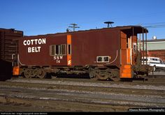 RailPictures.Net Photo: SSW 76 St. Louis Southwestern (Cotton Belt) SSW Caboose at South Salt Lake, Utah by James Belmont