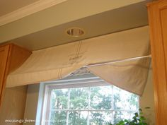 Musings From A French Cottage: Window Awning Tutorial genius!