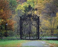 Potsdam Park Sanssouci Gartentor (My entryway) Neues Palais, Gazebos, Wrought Iron Gates, Entrance Gates, Main Entrance, House Entrance, Grand Entrance, Iron Work, Beautiful Places