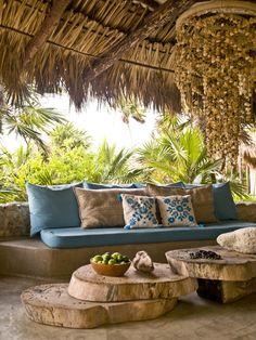 a rustic cabin in Tulum, Mexico | Casa Vogue
