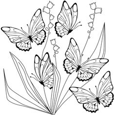 Coloring Sheets, Adult Coloring, Coloring Books, Butterfly Illustration, Watercolor Artwork, Watercolour, Free Hd Wallpapers, Home Pictures, Anime Comics
