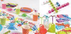"""Addobbi e decorazioni per feste a tema """"La vita a colori"""" su VegaooParty"""