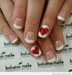 AboutWomanBeauty.com: Red and White nail compilation