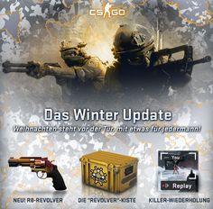 Infos zum CS:GO Winterupdate und auch zum aktuellen R8 Revolver Hotfix auf www.clankeeper.de