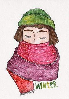 winter | by Tania Samoshkina