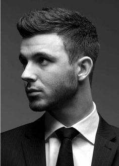 Tapered sides are becoming a new classic for men. #MensHair #Men #MensHairstyles