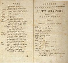 cosi fan tutte – printed libretto (January 1790) – lorenzo da ponte