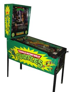 Pinball Machines - Teenage Mutant Ninja Turtles Pinball Machine - The Pinball Company Pinball Wizard, Games For Fun, Penny Arcade, Game Theory, Arcade Games, Pinball Games, Teenage Mutant Ninja Turtles, Tmnt, Game Room