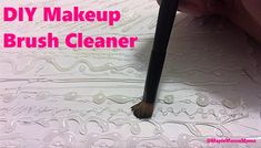 #DIY Makeup Brush Cl
