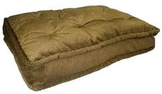 Pillow Top Pet Bed - Extra Large-Hot Fudge  15% Discount - Use code DOGGIE at Checkout   http://www.gingersdoggieheaven.com #SnoozerPetBeds 15% Discount - Use code DOGGIE at Checkout