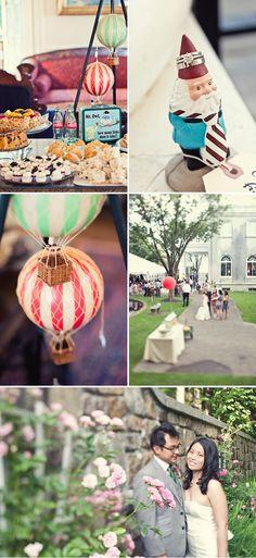 Travel Themed Wedding in Maryland | WeddingWire: The Blog