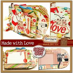 ScrapScription Scrapbooking Kit Club and Papercrafting Project Kits: Previous Kits