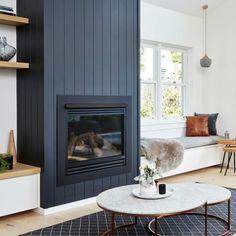Home Decor Living Room .Home Decor Living Room Home Fireplace, Fireplace Surrounds, Fireplace Design, Fireplace Remodel, Basement Fireplace, Fireplace Modern, Simple Fireplace, Shiplap Fireplace, Black Fireplace