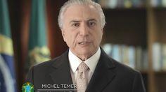 Na TV, Temer diz que crise será derrotada em 2017 e prega eficiência