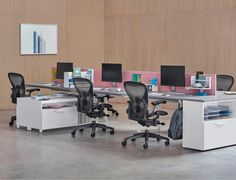 Layout Studio and Ubi Worktools by Observatory and the remastered Aeron Chair.