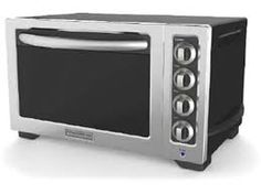 toaster oven to finish some prepared options