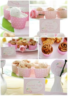 Food presentation \\ Charlotte's Pink Flower Party - Paper and Pigtails by Kori Clark Pink Parties, Birthday Parties, Birthday Ideas, Themed Parties, Birthday Fun, Birthday Wishes, Brunch Party, Brunch Food, Brunch Ideas