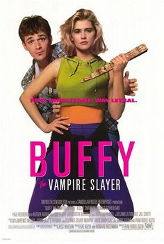 Buffy the Vampire Slayer movie, 1992 - Kristy Swanson and Luke Perry