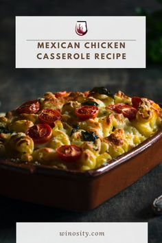 Try this yummy, easy Mexican chicken casserole recipe with corn and bell peppers. This is the best Mexican casserole that is packed with bold chicken flavor and melted cheese. An excellent Mexican dinner recipe that can be paired with the best white wines. A baked chicken recipe with a combination of sweet, salty, and fiery flavors. A no-fuss chicken breast recipe for the whole family. #cookingandrecipes #wineanddinner #chickenandwine #foodandwine #easymexicancasserolerecipe #bestchickenrecipe Easy Egg Casserole, Casserole Recipes, Mexican Dinner Recipes, Best Dinner Recipes, Chicken Flavors, Baked Chicken Recipes, Mexican Chicken Casserole, Corn Recipes, Easy Recipes
