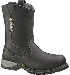 89725 Caterpillar Men's Gladstone Safety Boots - Black www.bootbay.com
