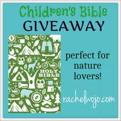 Nature Bible Review and Giveaway- super cool features! last day the giveaway is open- 8/9/13
