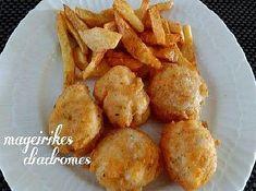 Μπακαλιαροκεφτέδες Recipe Images, Fish And Seafood, Cauliflower, Potatoes, Vegetables, Ethnic Recipes, Head Of Cauliflower, Potato, Veggies