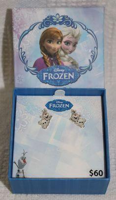 Olaf Figure Earrings Disney's Frozen - New   Jewelry & Watches, Children's Jewelry, Earrings   eBay!