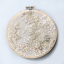 french knot embroidery - Google Search