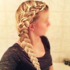 Regular Side Dutch Braid flettemette_