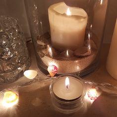 Seashell DIY fairy lights Mermaid Gifts, Mermaid Diy, Mermaid Ornament, Coastal Decor, Fairy Lights, Sea Shells, Christmas Decorations, Pool Backyard, Holiday
