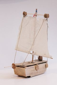 diy boat /ship toy for kids