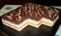 Sweet Desserts, Delicious Desserts, Dessert Recipes, Cake Bars, Sweet And Salty, Tiramisu, Nutella, Sweet Tooth, Bakery