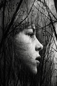 El despertar - Upload from Dropbox Luis Mariano, Photo Manipulation, Portrait, Black And White Photography, Artwork, Nature, Instagram Posts, Badass, Ios