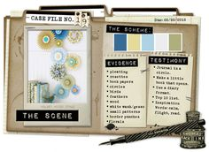 Case File No. 19 {Case Closes on May 20, 2012} - CSI: Color, Stories, Inspiration