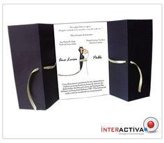 Convite Casamento La O Interactiva Design