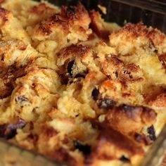 This cinnamon raisin bread pudding is a warm and comforting dessert recipe you will love.. Cinnamon Raisin Bread Pudding Recipe from Grandmothers Kitchen.