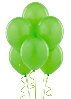 Fresh Lime (Lime Green) Balloons,  Love This For Aryanna's 2nd Birthday Party...