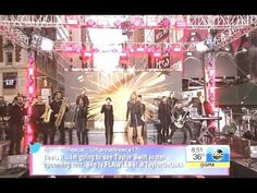 Taylor Swift - Shake It Off. Good Morning America Times Square, oct 2014
