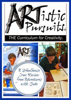 Artistic Pursuits (A Schoolhouse Crew Review) #art #elementary #homeschool #coschool